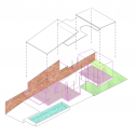 Vermani House / Eleena Jamil Architect Axonometric