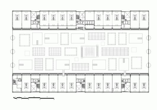 Airline Commercial Kitchen Floorplan
