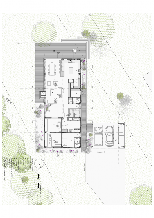Bo House Plan B Arquitectos Archdaily