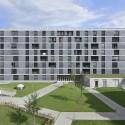 Student housing in Geneva / Frei Rezakhanlou Architects © Pierre Boss