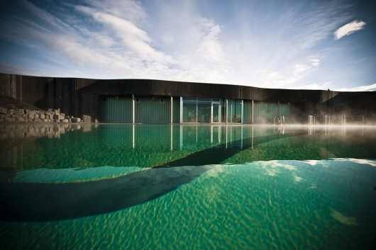 Hofsos Swimming Pool Basalt Architects Archdaily