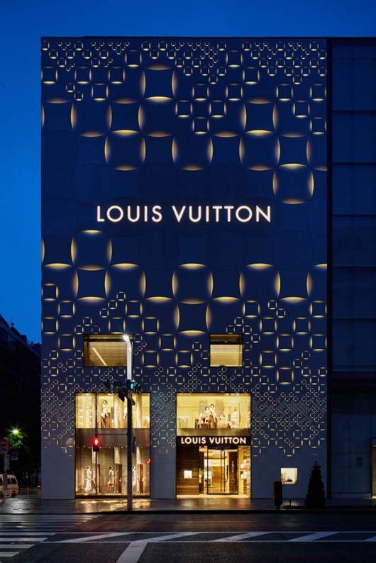 business report on louis vuitton's entry