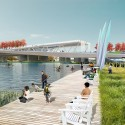 OMA + OLIN Selected to Design D.C.'s 11th Street Bridge Park © OLIN