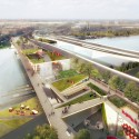 OMA + OLIN Selected to Design D.C.'s 11th Street Bridge Park © OMA & Luxigon
