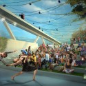 OMA + OLIN Selected to Design D.C.'s 11th Street Bridge Park © OMA