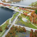 OMA + OLIN Selected to Design D.C.'s 11th Street Bridge Park Courtesy of OMA + OLIN
