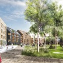 "K + S Selected to Design New ""Skärvet"" Neighborhood in Växjö Park . Image © K + S"