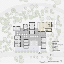 Son La Restaurant / Vo Trong Nghia Architects Ground Floor Plan
