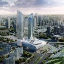 Zaha Hadid and Norman Foster Tapped to Design Luxury Hotels in China Jumeirah Nanjing. Image Courtesy of Jumeirah Group