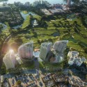 Daniel Libeskind-Designed Condominium Towers Proposed for Boca Raton © Vingtsix
