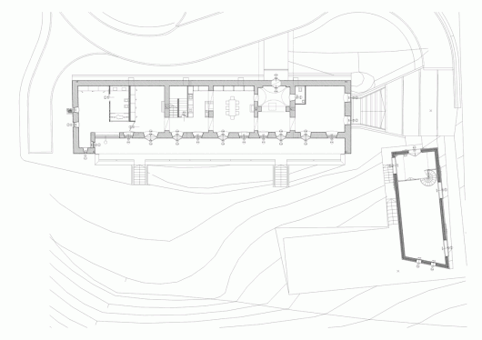 Winery in balaton highland sagra architects archdaily for Winery floor plans by architects