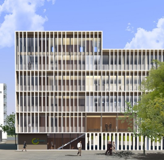 Piuarch and stefano sbarbati architecte designs new for Garage a champigny sur marne