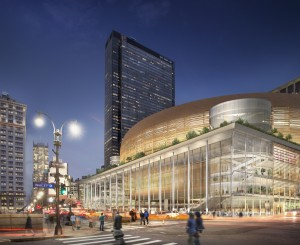 Woods Bagot's Alternative Penn Station Solution Would Keep Madison Square Garden