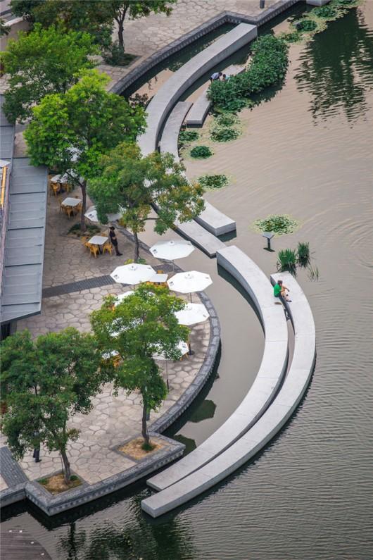 Zhangjiagang Town River Reconstruction / Botao Landscape   Arch Daily    Bloglovin' - Zhangjiagang Town River Reconstruction / Botao Landscape Arch