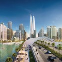 World's Tallest Twin Towers Planned for Dubai © Emaar Properties and Dubai Holding; Courtesy of Gizmodo