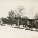 Six Keys to Designing Architecture that Terrorizes The earliest known photograph of Frank Lloyd Wright's Taliesin House, taken during construction in the winter of 1911. Image © Wisconsin Historical Society via Wikipedia