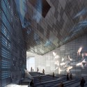 Competition Winners Announced for Madrid Digital Arts Museum First Prize: Urban Interface / Arch. Michelangelo Vallicelli, Lorenzo Sant'Andrea, Nicolò Troianiello (Rome, Italy). Image Courtesy of Ctrl+Space Architectural Competitions