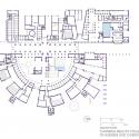 HBKU Carnegie Mellon  / Legorreta + Legorreta Ground Floor Plan