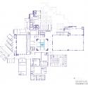Plan de HBKU Centro de Estudiantes / Legorreta + Legorreta