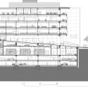 Edificio Camara De Comercio Sede Chapinero / Daniel Bonilla Arquitectos Section