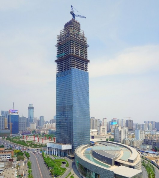 The World's 10 Tallest New Buildings of 2015 546279a4e58eceb71f000004 the world s 10 tallest new buildings of 2015 forum 66 construction 530x590
