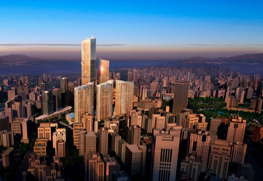 The World's 10 Tallest New Buildings of 2015 54627ae5e58eceecb500000c the world s 10 tallest new buildings of 2015 eton place dalian 530x366