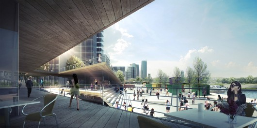 Synwha Consortium Wins Competition To Design Waterfront