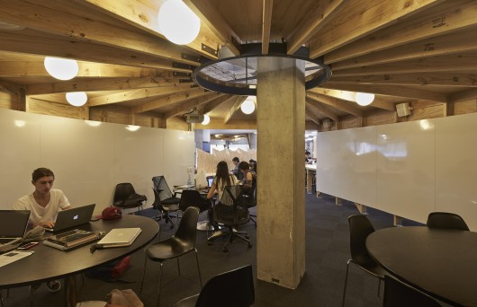 Macquarie University Social Learning Space / Bennett and Trimble