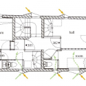 KURO Building / KINO Architects Floor Plan
