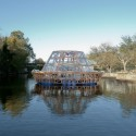 """Jellyfish Barge"" Provides Sustainable Source of Food and Water Exterior View. Image © Matteo De Mayda"