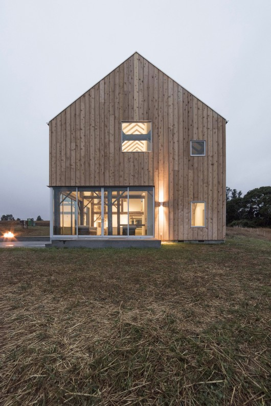 Sebastopol barn house anderson anderson architecture for Anderson architects