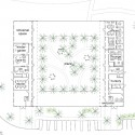 """SANAA's First US Commission Since Pritzker, """"The River"""" Underway in Connecticut The barn plan. Image Courtesy of Grace Farms and SANAA"""