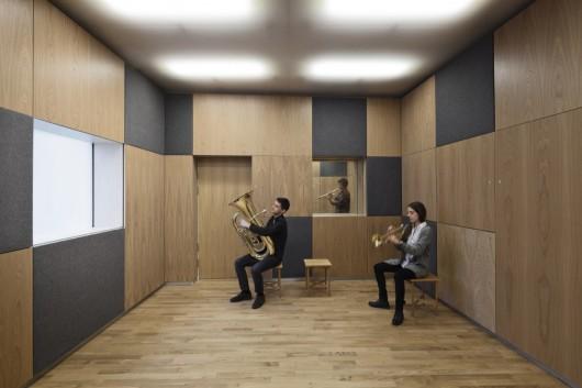 طراخی موزه موسیقی، موزه پر طنین