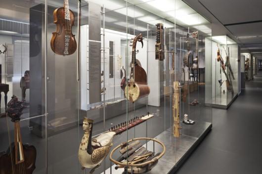 طراحی داخلی موزه موسیقی