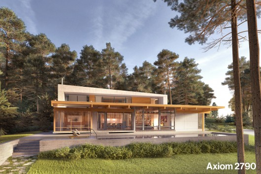 Dwell partners with turkel design for modern prefab house for Dwell home plans