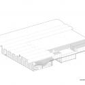 ACE Cafe 751 / dEEP Architects Isometric