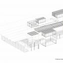 ACE Cafe 751 / dEEP Architects Exploded Isometric