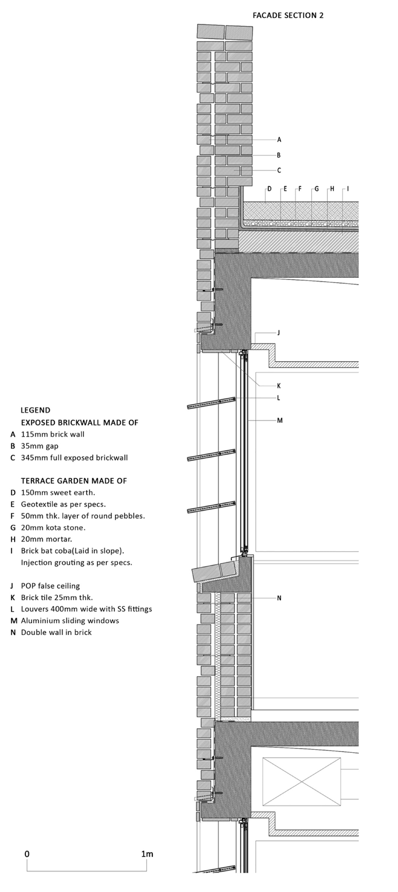 Terrace garden details - This Collection Includes Many Common Connection Details Between Two Or More Architectural Elements So Crucial In Ensuring A Building Envelope Is Wa