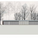 Villa Buresø / Mette Lange Architects North Elevation