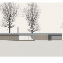 Villa Buresø / Mette Lange Architects South Elevation