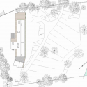 Villa Buresø / Mette Lange Architects Site Plan
