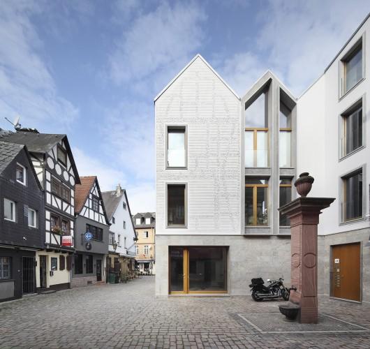 kleine rittergasse 11 franken architekten archdaily