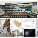 "Winning Proposals of ""Looking Forward"" Visualize the Future Athenaeum of Philadelphia Athenaeum 2050. Image Courtesy of The Athenaeum of Philadelphia"