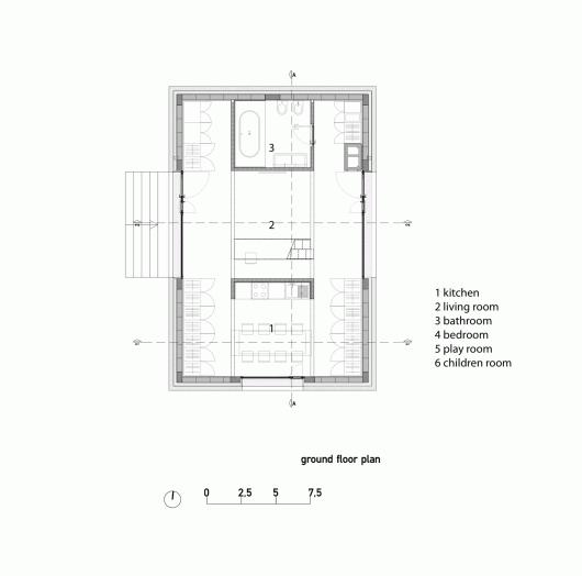 compact karst house dekleva gregori arhitekti archdaily