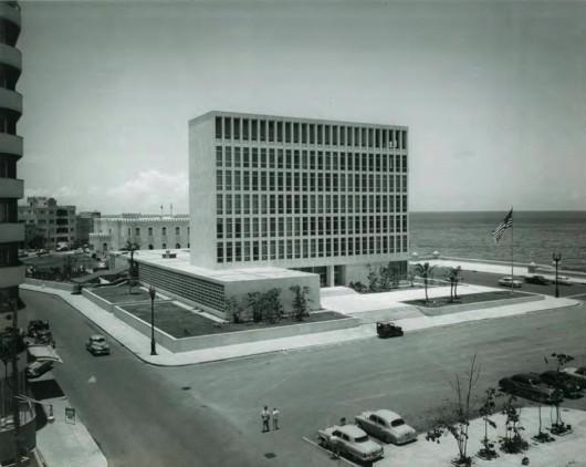 Ad Classics United States Embassy In Havana Harrison