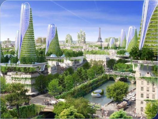 vincent callebaut 39 s 2050 vision of paris as a smart city archdaily. Black Bedroom Furniture Sets. Home Design Ideas