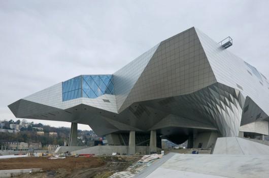 طراحی موزه هنری لیون فرانسه