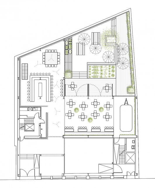 48 urban garden ak a archdaily for Alaska floor plans