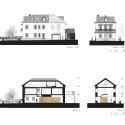 Casa en la Sección Estoril / Ricardo Moreno Arquitectos, Elevación