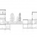 House 1014 / H Arquitectes Section
